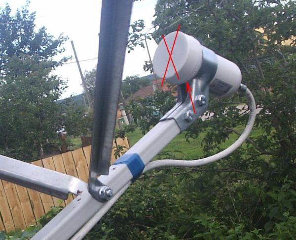 антенна плохо ловит в дождь
